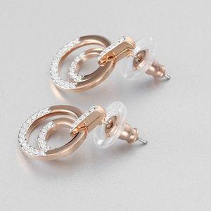 Swarovski 925 Sterling Silver Earrings